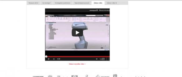 Rozszerzony opis produktu - możliwość dodawania zakładek tabeli oraz umieszczania w nich dowolnej treści, w tym pliki pdf lub klipy video z serwisu youtube.