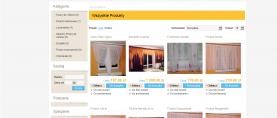 Strona główna – widok produktów – siatka (po 4 produkty w jednym rzędzie).