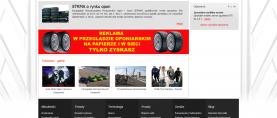 Panele aktualności, banery reklamowe, foto news, skrótowy panel ogłoszeń.