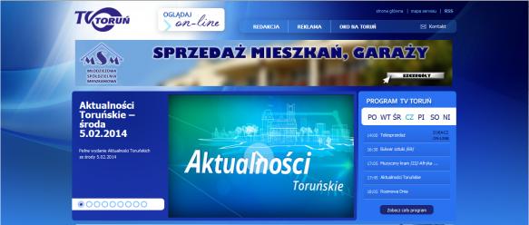 Strona główna Telewizja Toruń
