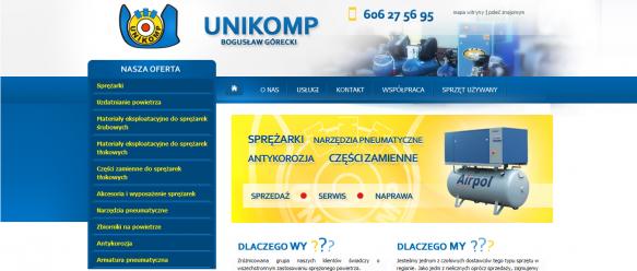 strona główna, wprowadzenie, menu nawigacyjne